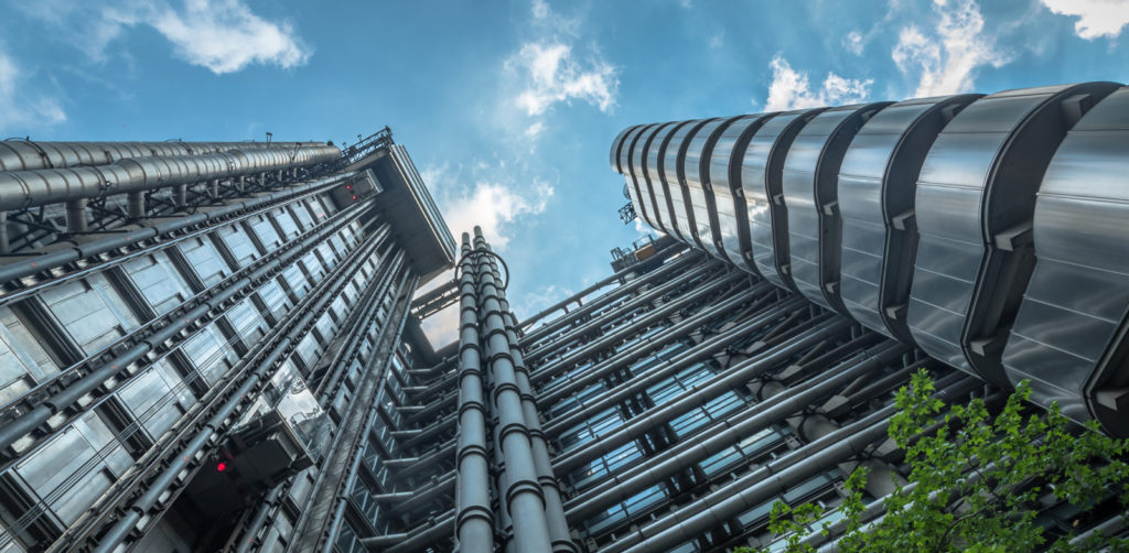 Lloyd's of London. Then and Now